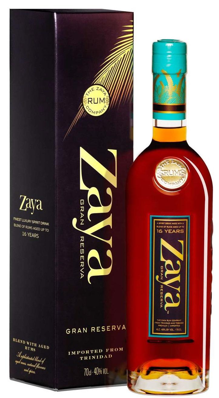 Zaya Gran Reserva Rum - Rom fra Trinidad 40 % 70.cl