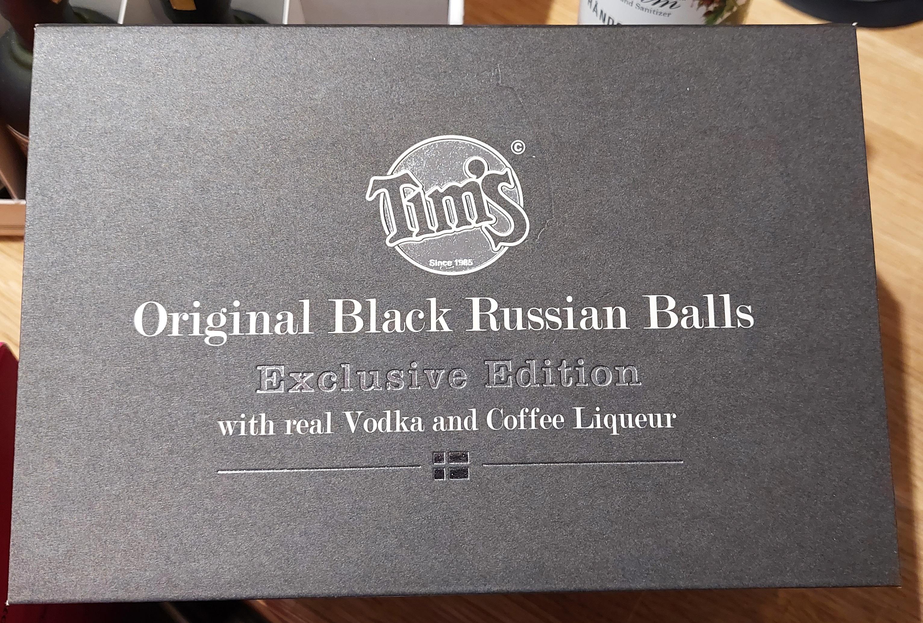Tim's Romkugler Original Black Russian Balls 240 g