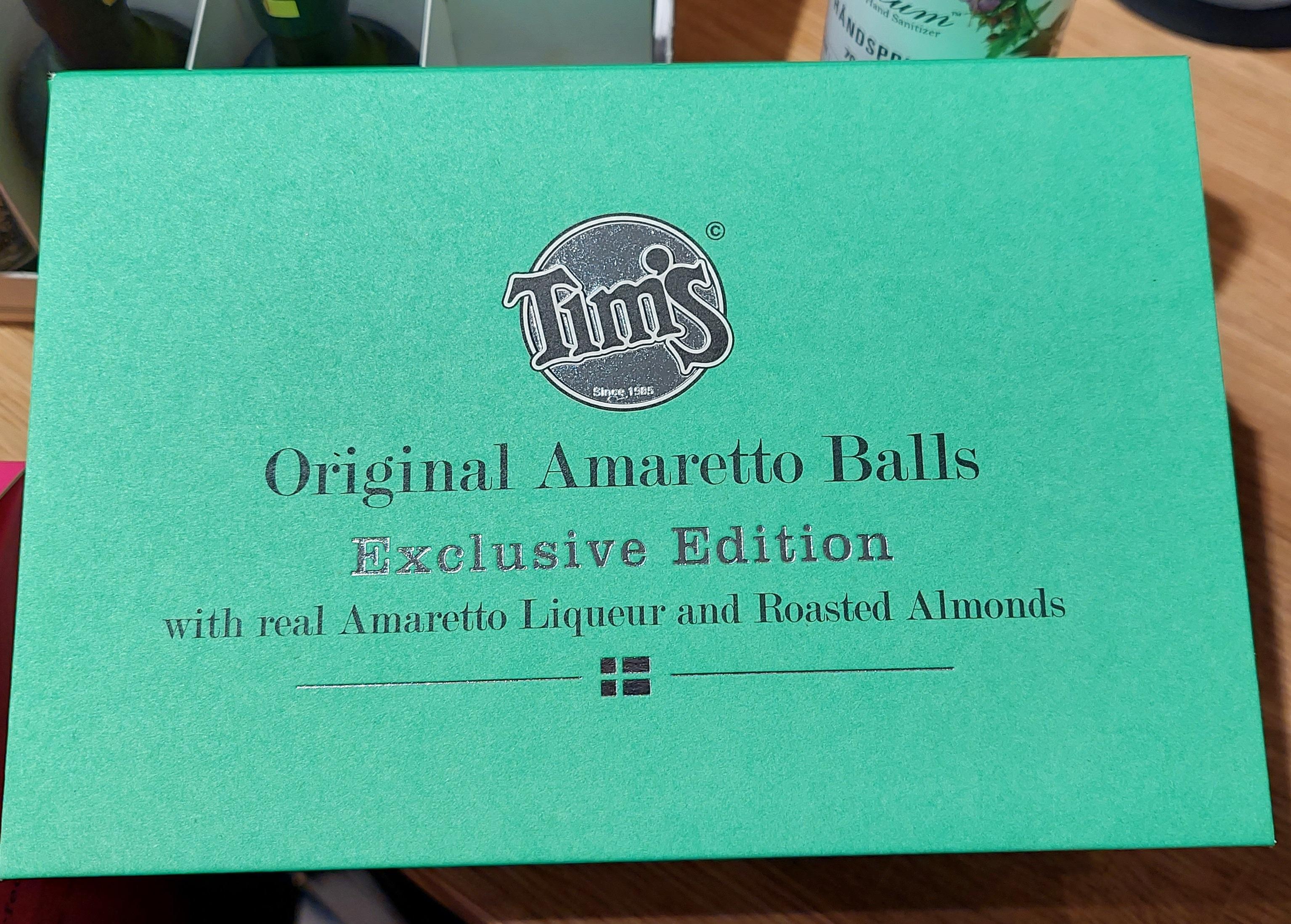 Tim's Romkugler Original Amaretto Balls 240 g
