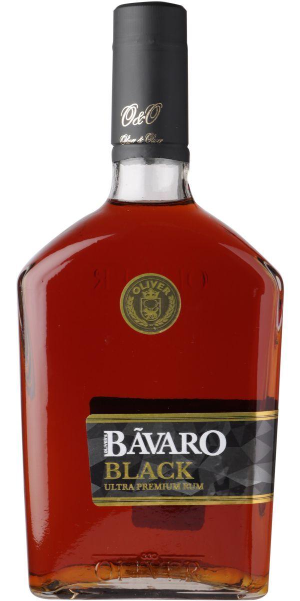Bavaro Black, Ultra Premium Rum 70 cl 38 %