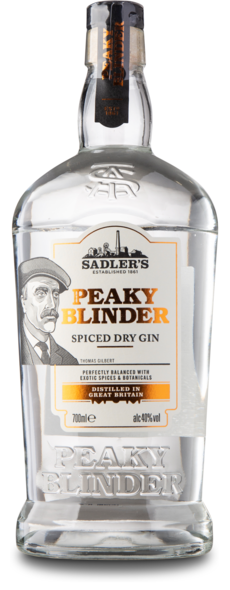 Peaky Blinders Spiced Gin, 40%, 70 cl