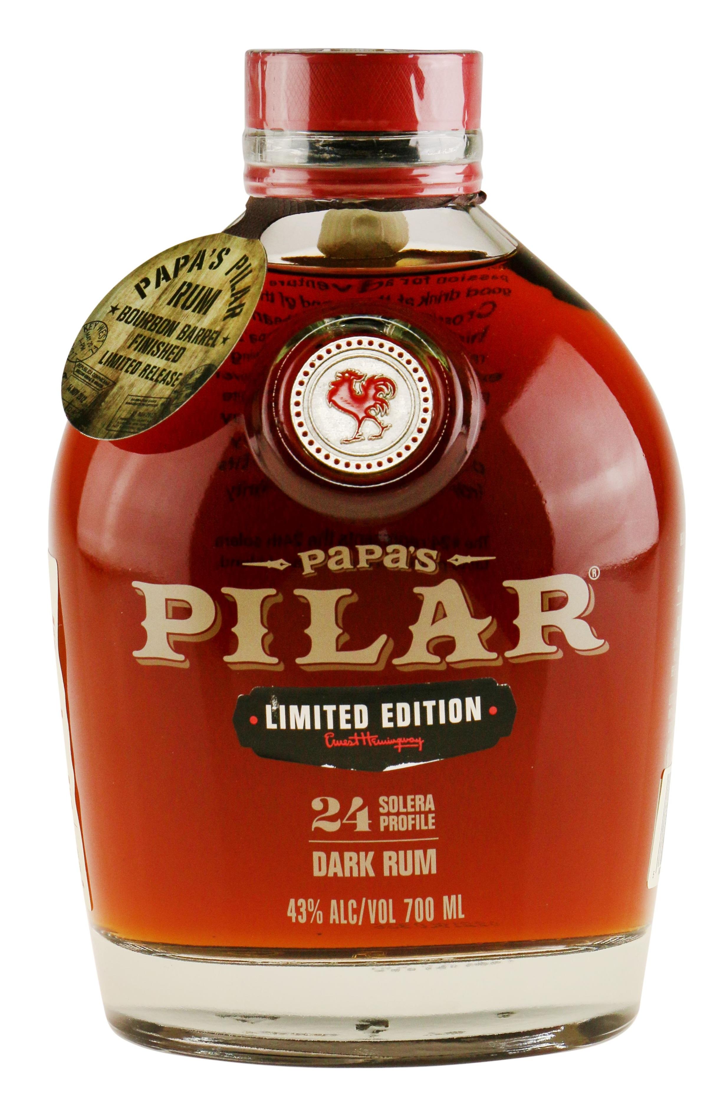 Papas Pilar Bourbon Finish Rom