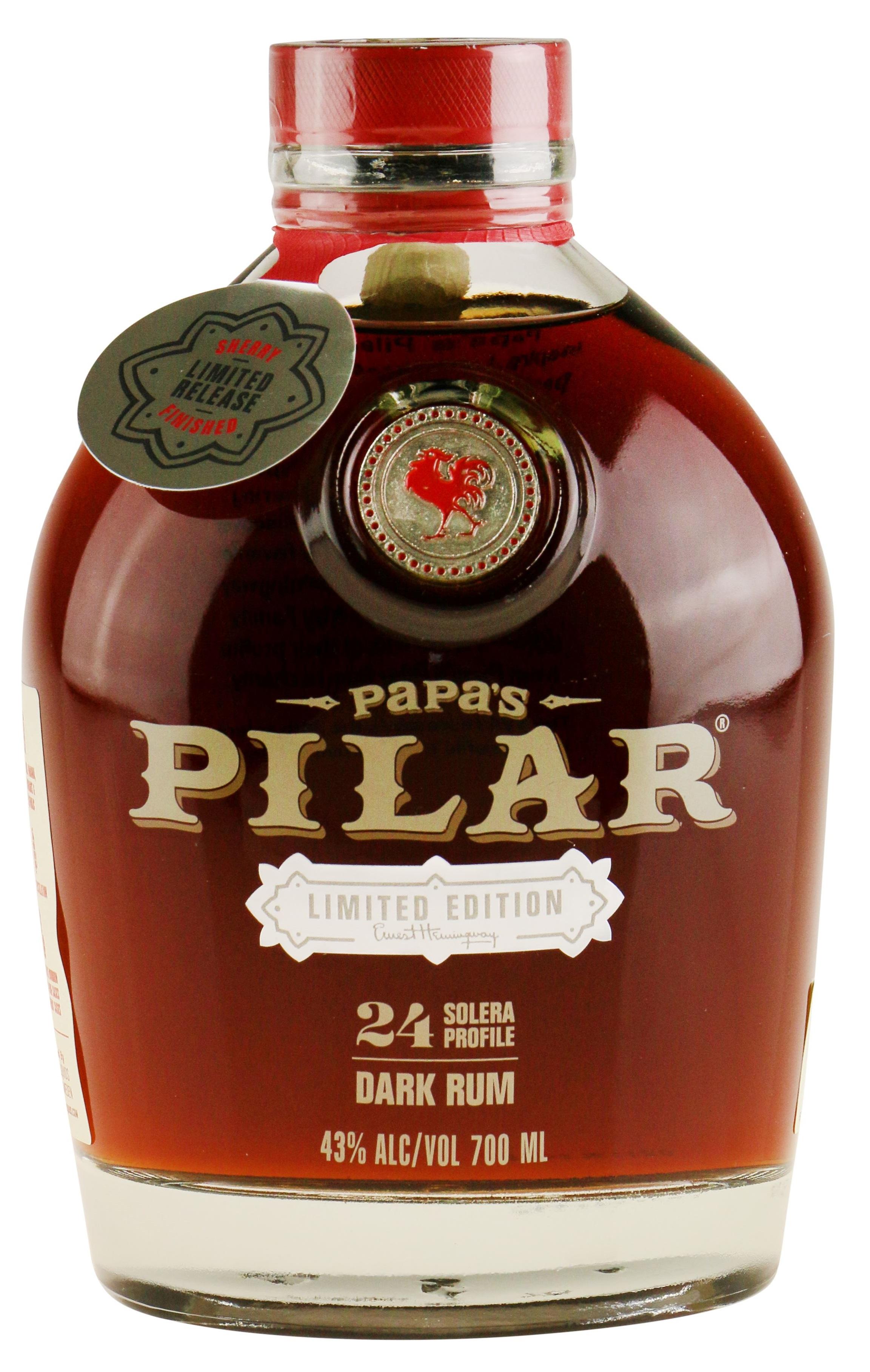 Papas Pilar Sherry Finish Rom 70.cl 43,%