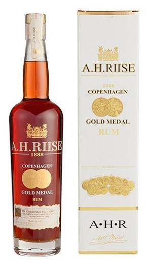 A.H. Riise 1888 Copenhagen Gold Medal Rom, Saint Thomas - 40% 70.cl