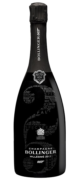 Bollinger Champagne 2011 - 007 Grand Cru Limited Edition