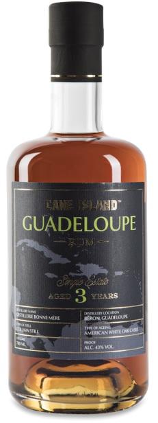 Cane Island 3 År Guadeloupe Single Estate 70 cl 43%
