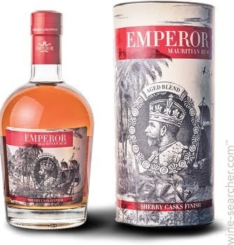 Emperor Sherry Casks Finish Mauritian Rum 40% 70 cl