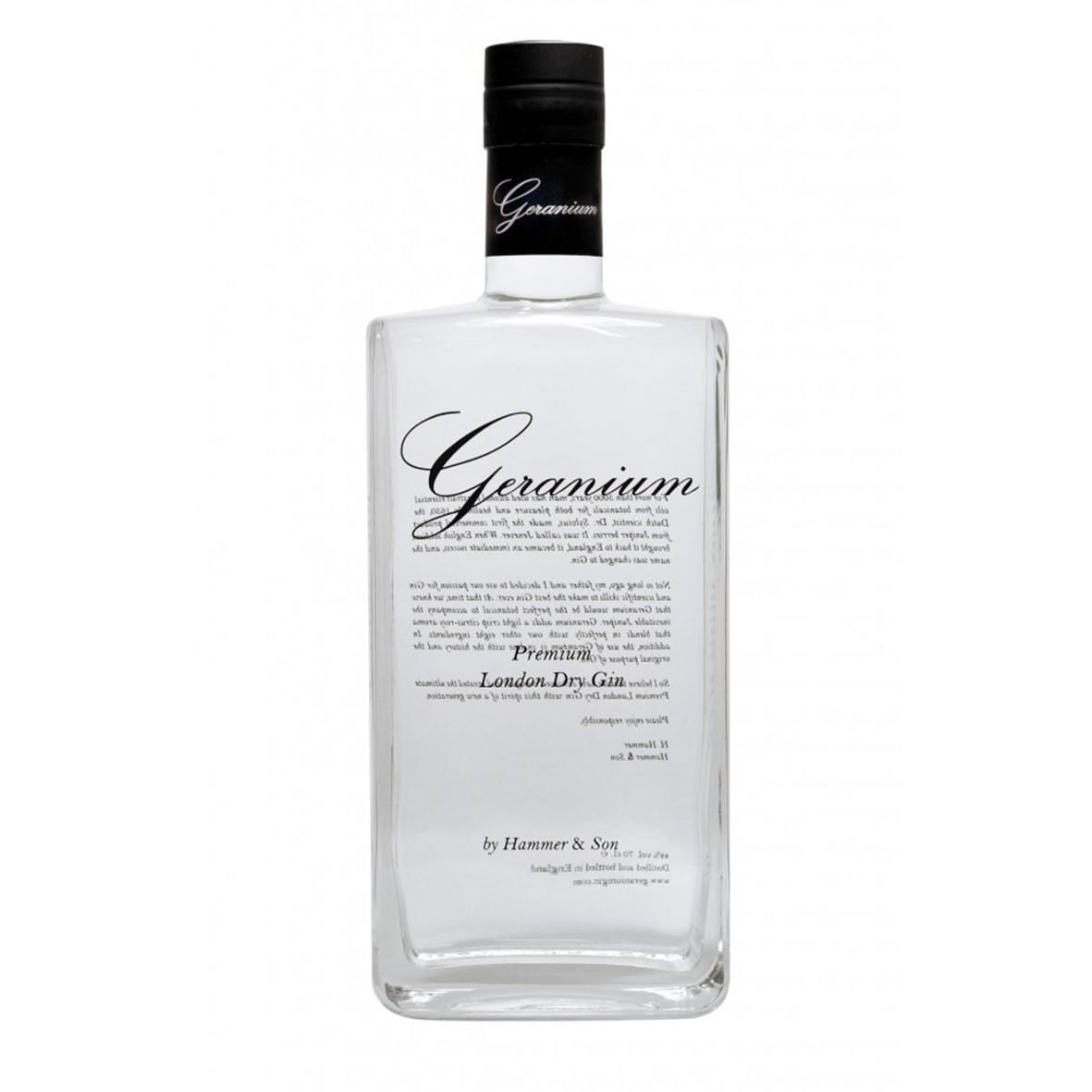 Geranium Gin 40% - 70 cl.