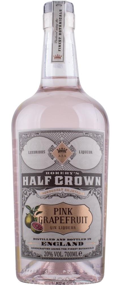 Half Crown Pink Grapefruit Gin Likør Rokeby 20% 70.cl