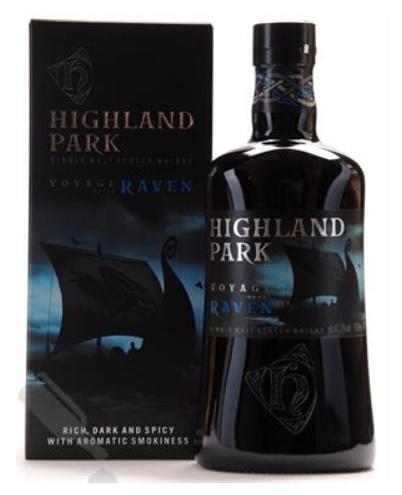 Highland Park Voyage of the Raven Single Orkney Malt Whisky 41,3% 70,cl