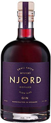 Njord Gin - Distilled Slow Sloe 50.cl 29%