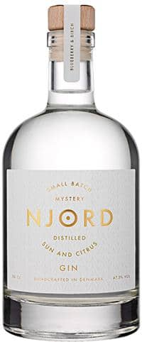 Njord Gin Distilled Sun And Citrus 50.cl 47.5 %