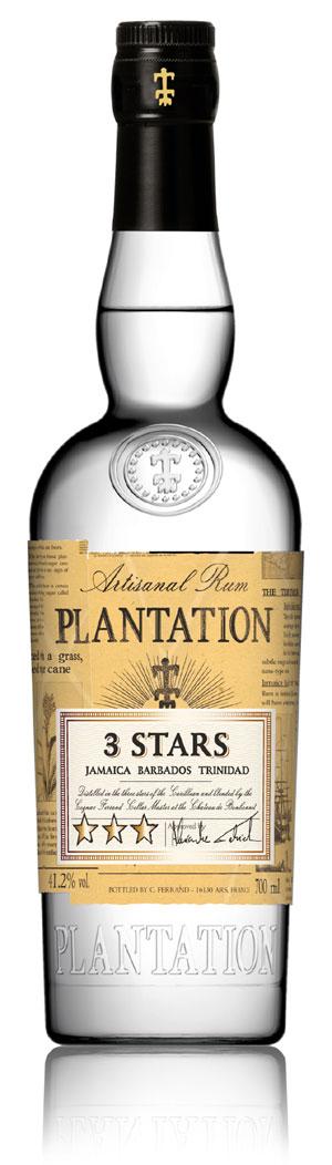 Plantation Rum, 3 Stars White Rum