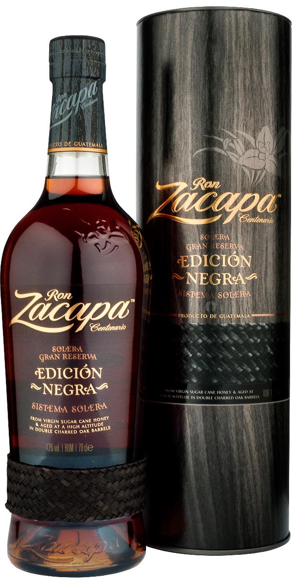 Ron Zacapa Edicion Negra 43% - 70 cl.
