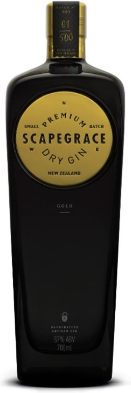 Scapegrace Gold Gin 57% 70.cl