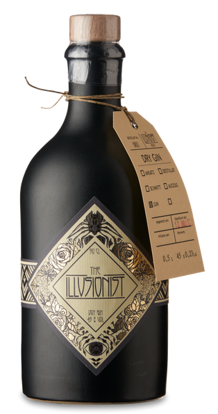 The Illusionist Dry Gin 45% 0,5 l