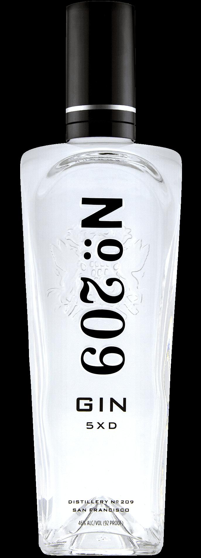 No. 209 Gin 46% - 70 cl.