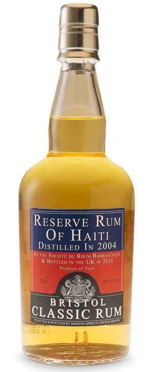 Bristol Spirits Reserve Rum of Haiti 2004 70.cl 43 %