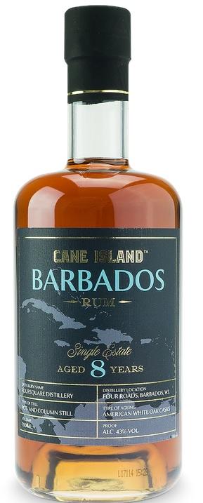 Cane Island 8 År Barbados Single Estate 70cl 43 %