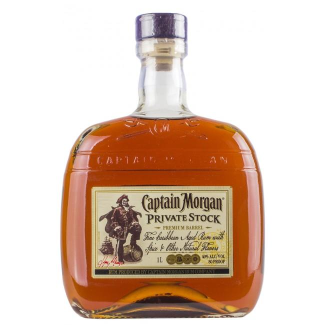 Captain Morgan Private Stock Rum 1 liter