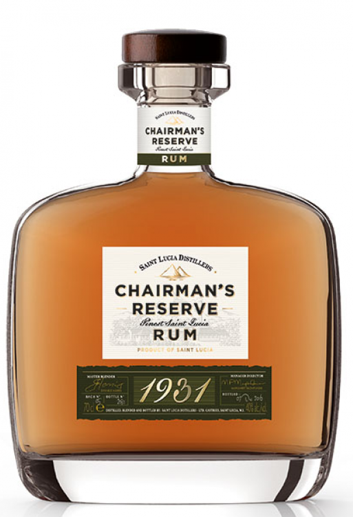 Chairman´s Reserve 1931 Finest St Lucia Rom 46% 70.cl