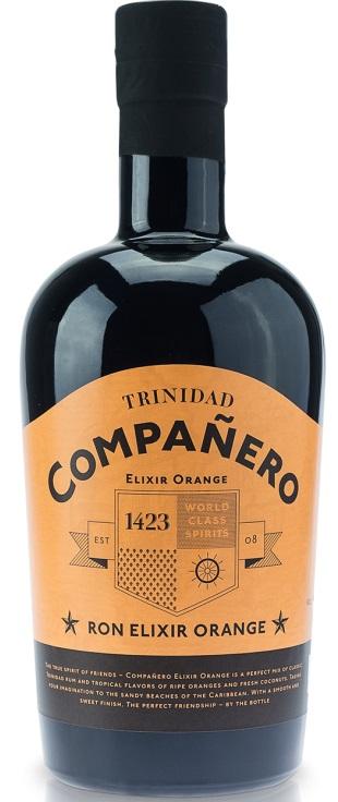 Companero Ron Elixir Orange. 40%, 70 cl.