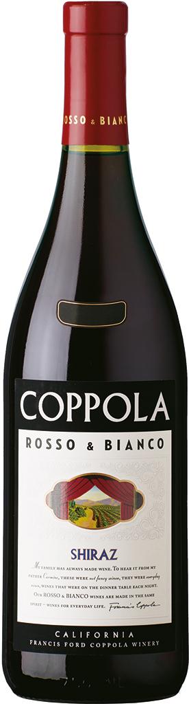Coppola Shiraz, Rosso & Bianco