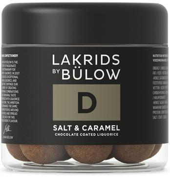 D, Salt & Karamel Lakrids, 150 g, Lakrids by Johan Bülow