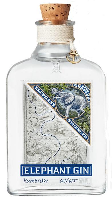 Elephant Strength Gin 57% 50 cl