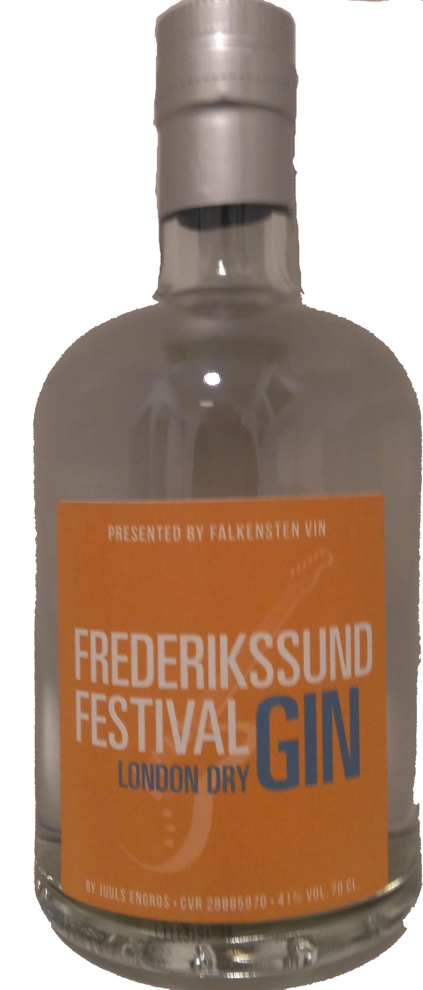 Frederikssund festival Gin 70 cl 40 %