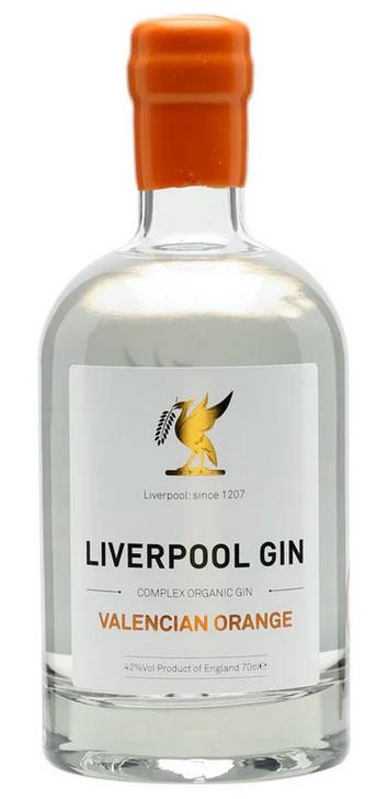Liverpool Valencian Orange Gin 70 cl 46 %
