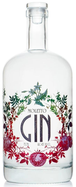 Moletto Gin Distillato Premium Italy Dry Gin 70 cl 43%