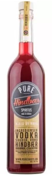 Pure Shots Hindbær