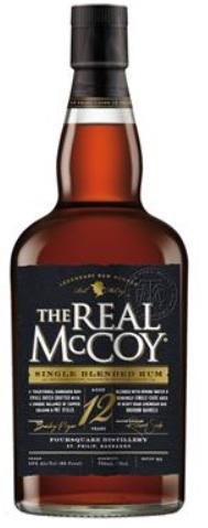 The Real McCoy Rum 12 år 46% 70cl