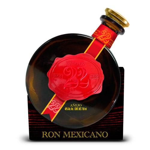 El Ron Prohibido Reserva 22 år Mexico Solera Rom 70 cl 40%