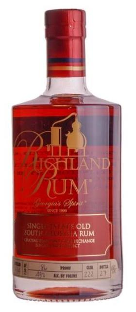 Richland Rum, Single Barrel - Chateau Elan Port Cask, 43%