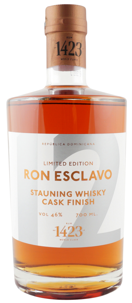 Ron Esclavo Solera 12 år Stauning Whisky Cask Finish 70.cl 46%