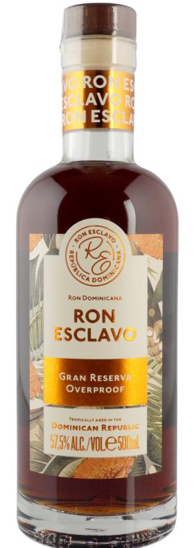 Ron Esclavo Gran Reserva Overproof rom 57,5% 50.cl