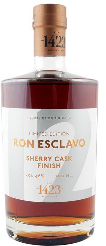 Ron Esclavo Dominicana 12 YO, Sherry Cask Finish 70.cl 46%