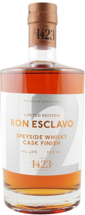 Ron Esclavo 12 år Speyside Whisky Cask Finish, Limited Edition 46% 70.cl