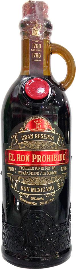 El Ron Prohibido Gran Reserva 15 Year
