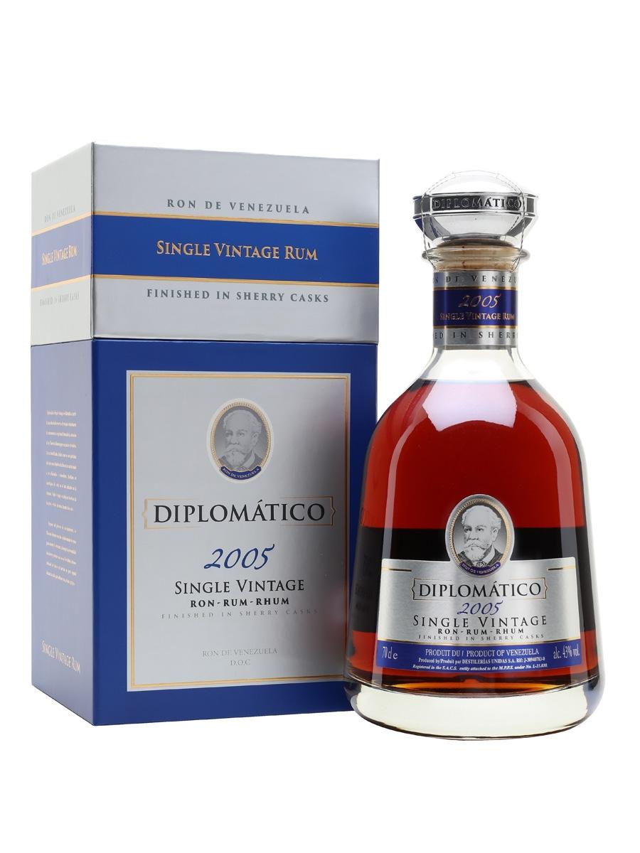 Diplomático Single Vintage 2005 43% - 70 cl.