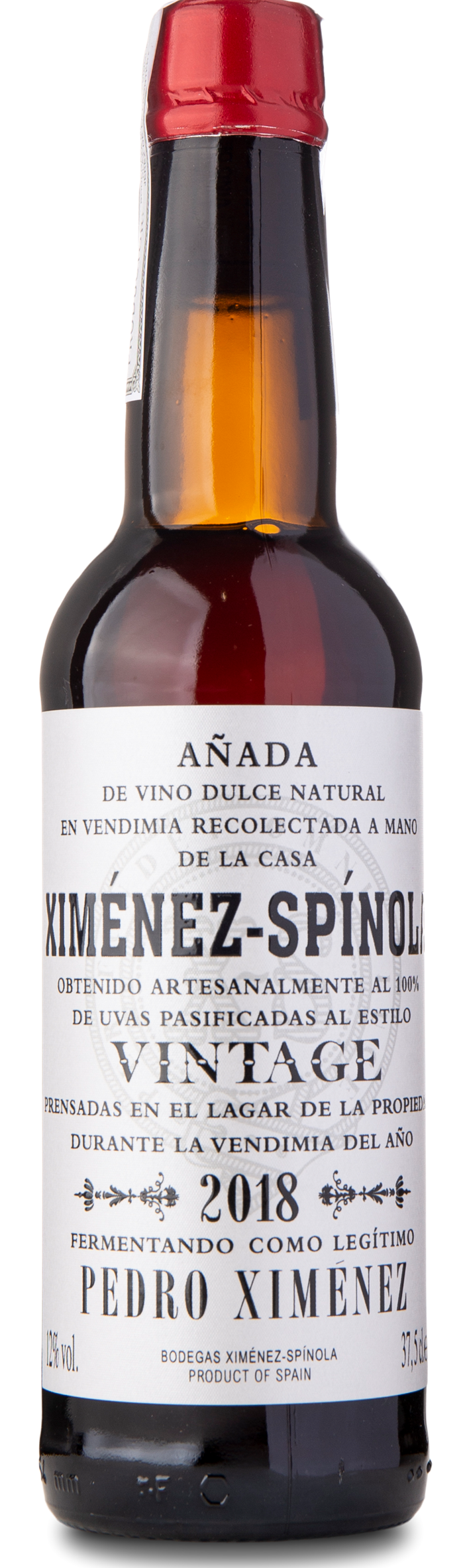 2018 Ximenex-Spinola PX Vintage, 3/8 ltr.